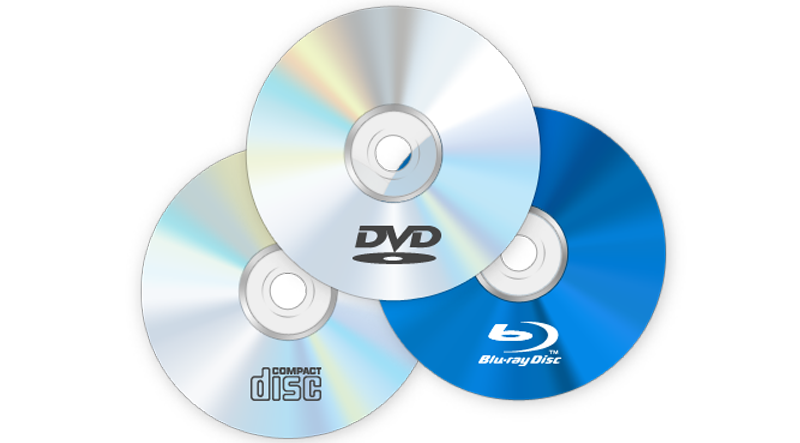 CD/DVD's